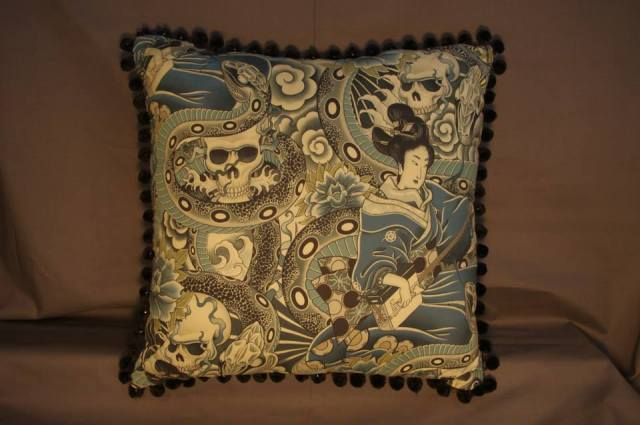 Zen Charmer Retro Cushion