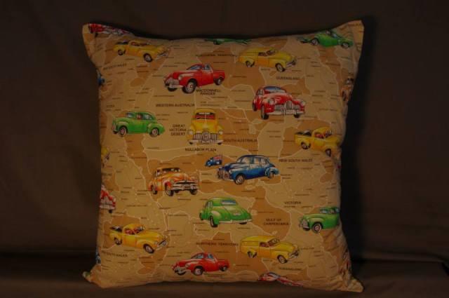 Aussie Holdens No Trim Retro Cushions