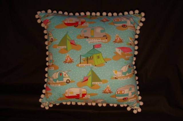 Glamping Retro Cushions