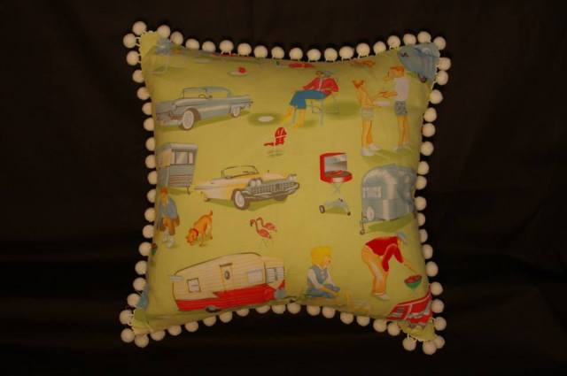 Retro Camping Cushions