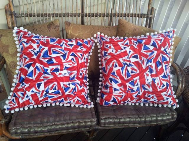 Union Jack Flag Cushions